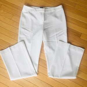 Anne Klein Size 6 White work pant